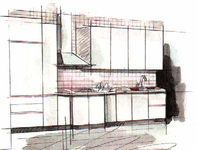 Образная кухня 5 полуостровная кухня 6